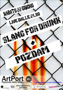 slang for drunk + pozdam