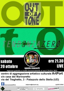 tendenza zero + out of tone